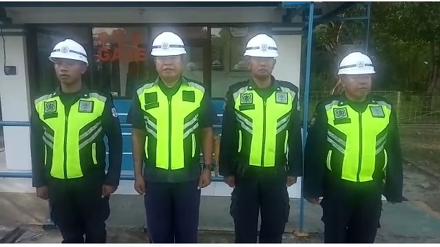 Security Garda Mitra satya Balikpapan Berikan Pujian Kepada TNI-POLRI