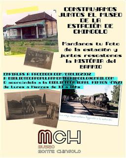 La Biblioteca convoca a los vecinos a sumar sus aportes al Museo Histórico de Monte Chingolo