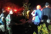 Kebakaran di Soppeng, Hanguskan 7 Rumah, dan dua Korban Jiwa