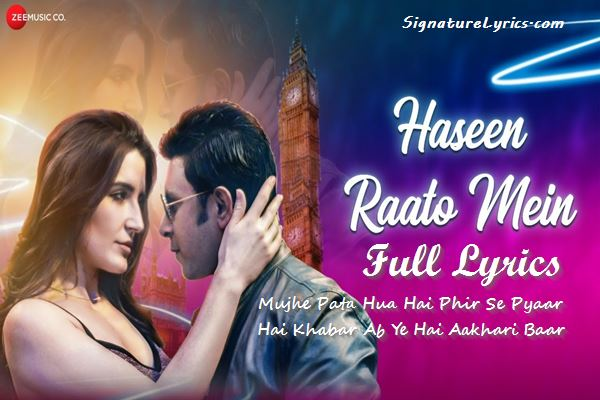 Hassen Raato Mein Lyrics Anand Parmar - Daria - Club Song