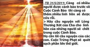 Hàng tỷ người sẽ hoán cải và lần đầu tiên họ sẽ nhận ra Đức Chúa Trời, Thiên Chúa Ba Ngôi