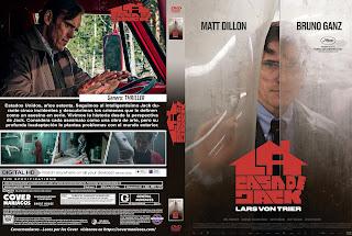 CARATULA LA CASA DE JACK -THE HOUSE THAT JACK BUILT 2018[COVER DVD]