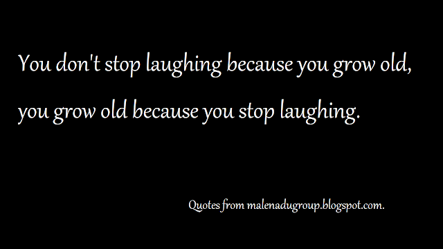 sayings on growing old