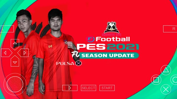 PES 2021 MYANMAR EDIT | PPSSPP Android Download