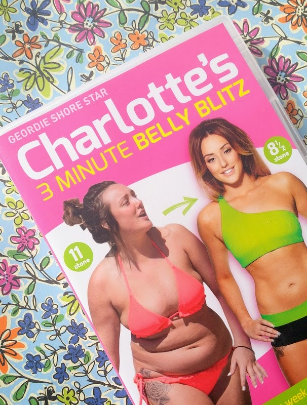 Fitness   Week 3 – Charlotte Crosby's 3 Minute Belly Blitz