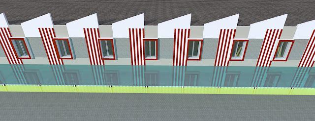 desain ruko 2 lantai minimalis