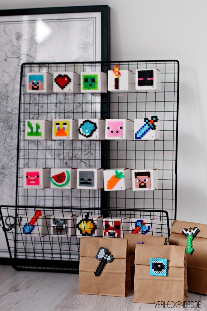 Minecraft Adventskalender DIY für Jungen