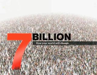 Ο πληθυσμός της Γης έφτασε τα 7,2 δισεκατομμύρια άτομα