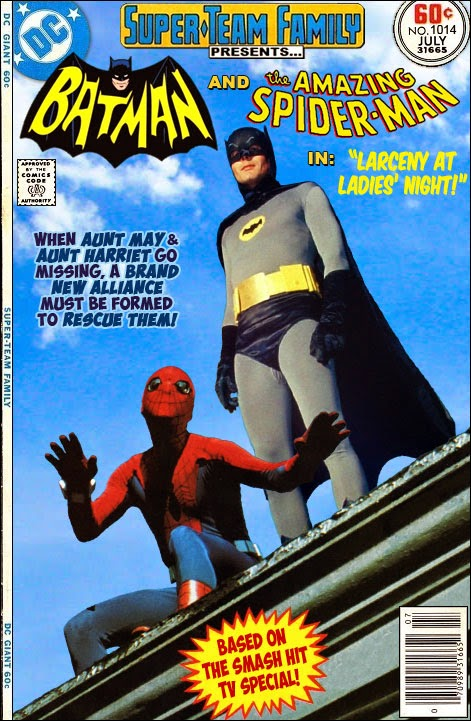 Batman 66 and Spiderman 80s