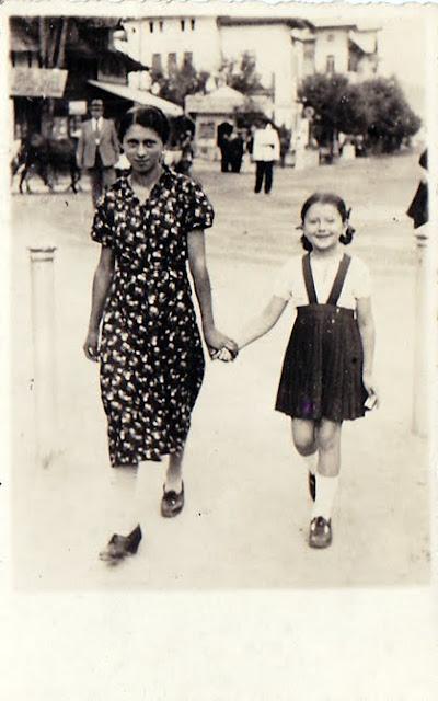 Lacramioara si Maria la plimbare prin Govora