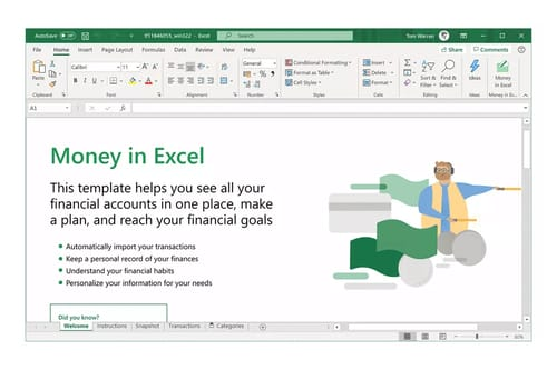 Microsoft launches a feature to import your financial activities into Excel