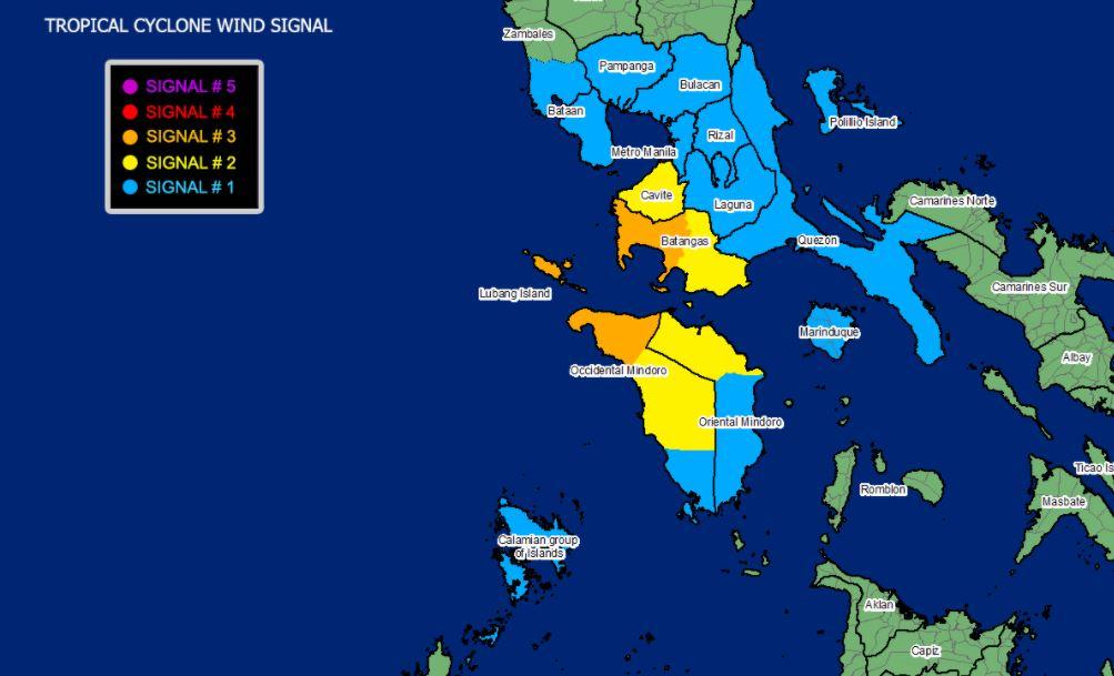 Typhoon 'Rolly' makes landfall in Lobo, Batangas