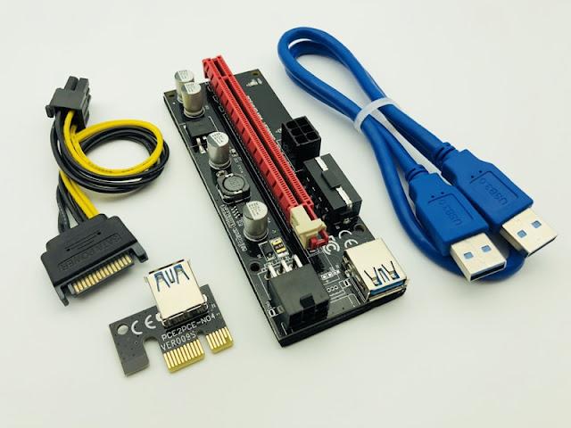 PCI-E екстендери версия 009S