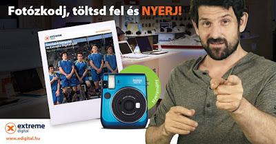Edigital Fujifilm Instax Mini Nyereményjáték