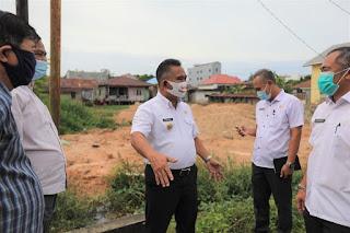 Tinjauan Lapangan di Wilayah Kelurahan Karang Anyar Kecamatan Tarakan Barat