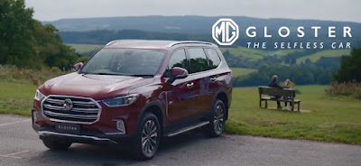 2020 MG Gloster : Biggest and tallest SUV
