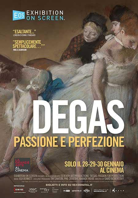 Degas - Passione e Perfezione: 2 biglietti cinema gratis (28, 29 e 30 Gennaio)