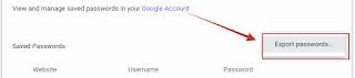 Cara Melihat Data Password Yang Tersimpan di Browser Chrome