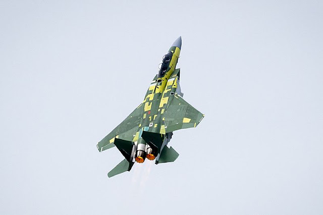 Boeing F-15 Qatar first flight