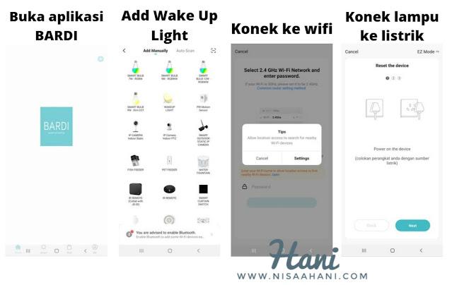 Cara-setting-BARDI-Smart-Wake-Up-Light