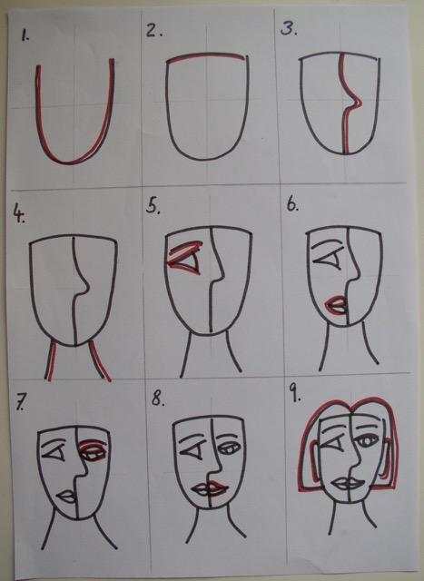 Visual Arts at AIS: Picasso inspired portrait
