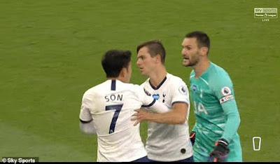 Son Heung Min suýt tẩn nhau với đội trưởng Tottenham: Jose Mourinho nói gì?
