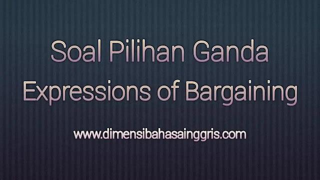DBI - Soal PG Bargaining
