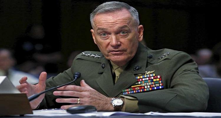 رئيس الأركان الأمريكي : إيران كانت تهدف لقتل عسكريين في الهجوم الصاروخي