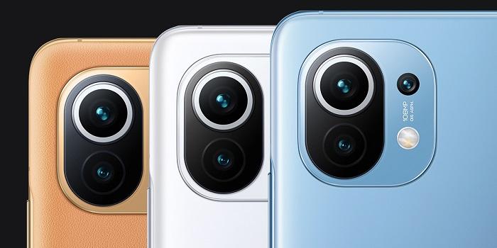 Xiaomi Mi 11 Colours Choices
