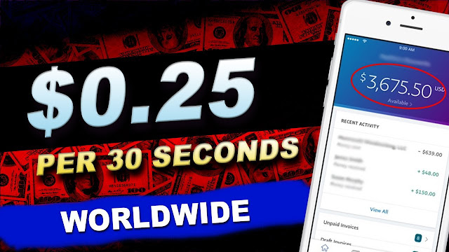 Make Money Online To View Ads And Watch Videos [Earn 25 Cents Every Thirty Seconds]