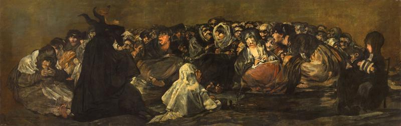 Le grand bouc, Francisco de Goya (1819–1823)