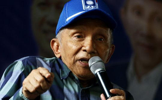 Amien Rais: Pak Presiden, Tolong Itu Elemen yang Merusak Kehidupan Bangsa Segera Dibersihkan dari Istana