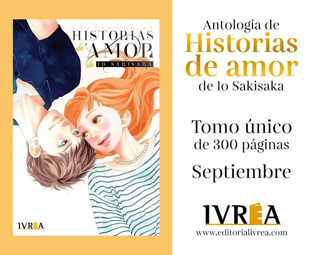Ivrea licencia Antología de historias de amor de Io Sakisaka.