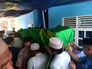 Persatuan Wartawan Indonesia Melepas Almarhum Abdurachmam Samiun ke Pemakaman