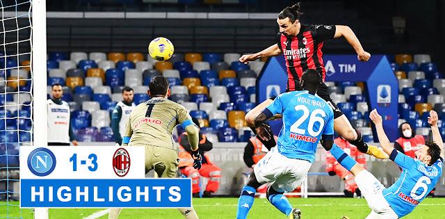 Napoli vs Milan – Highlights