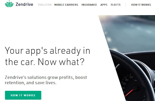Zendrive app uses data analytics