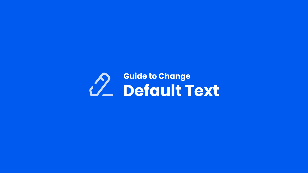 Change Default Text in iMagz Theme