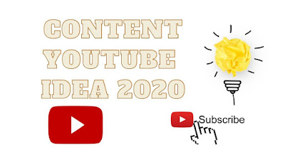 IDE KONTEN CHANEL YOUTUBE TERBARU 2020