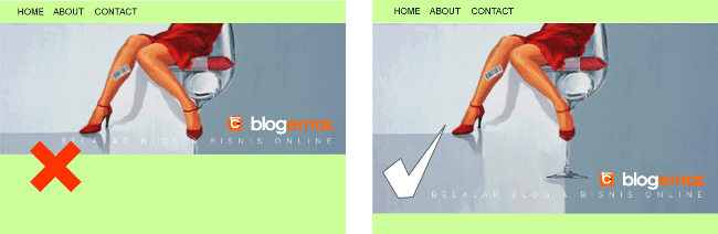 Cara Membuat Header Blog Full Screen Total
