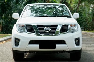 Eksterior Nissan Frontier Navara Facelift