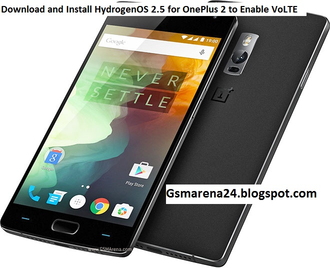 Download and Install HydrogenOS 2 5 for OnePlus 2 to Enable