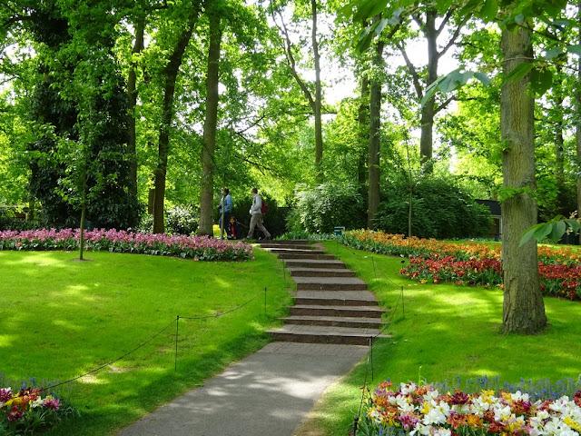 Jardins de Keukenhof -Amesterdão