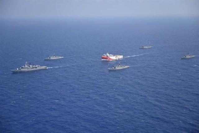Πλοίαρχος Oruc Reis: Περήφανος που υπηρετώ την ιδέα της «Γαλάζιας πατρίδας»