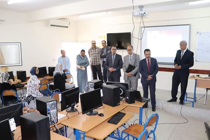انطلاق الدورة التكوينية لفائدة المديرين التربويين لمؤسسات التعليم الخصوصي بجهة كلميم وادنون.