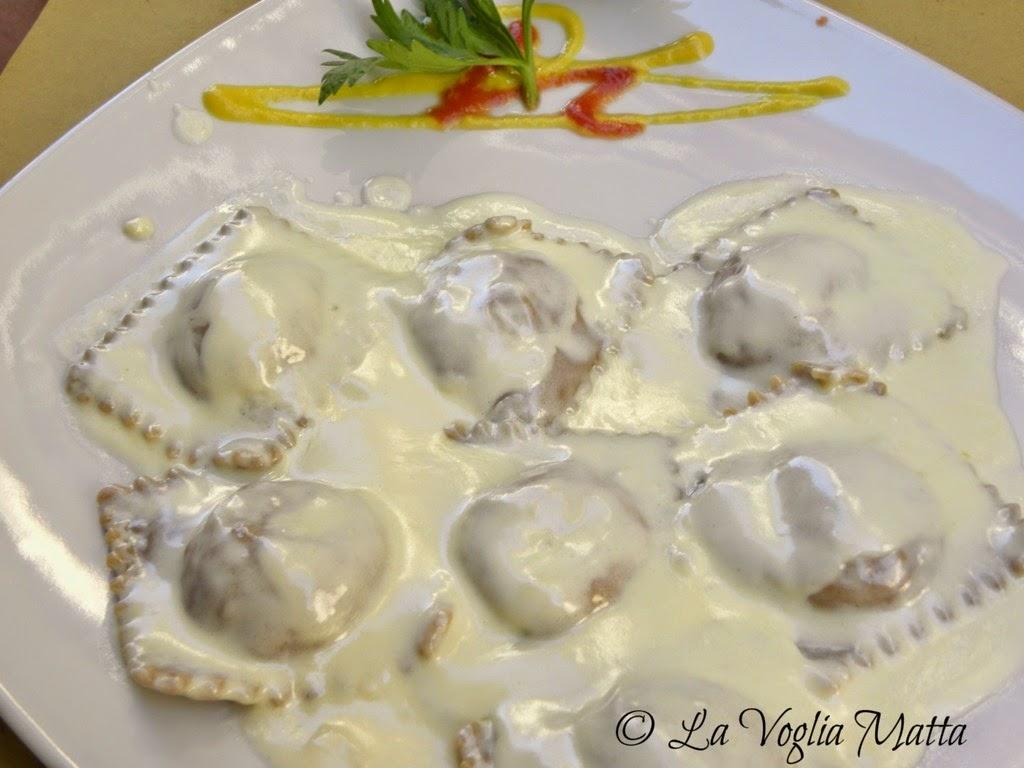 Osteria De' Cenci Arezzo tortelli ai porcini e tartufo