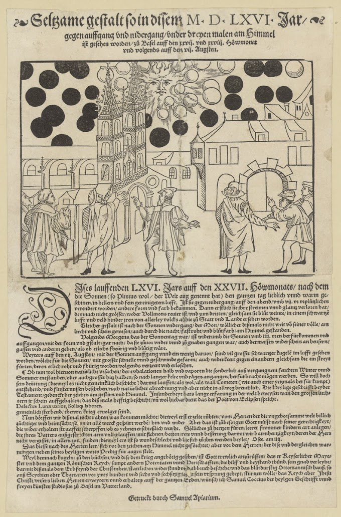 Mysterious Sky Phenomenon Over Basel In 1566