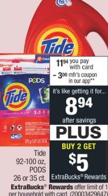 Tide Liquid Detergent-