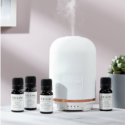 neon wellbeing pod essential oil diffuser