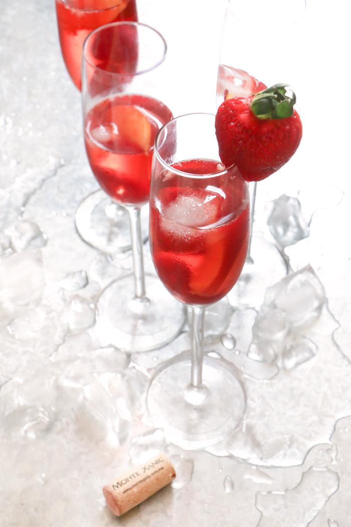 La más rica Sangría de Vino Rosado