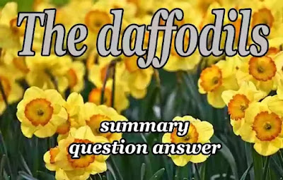 The daffodils summary